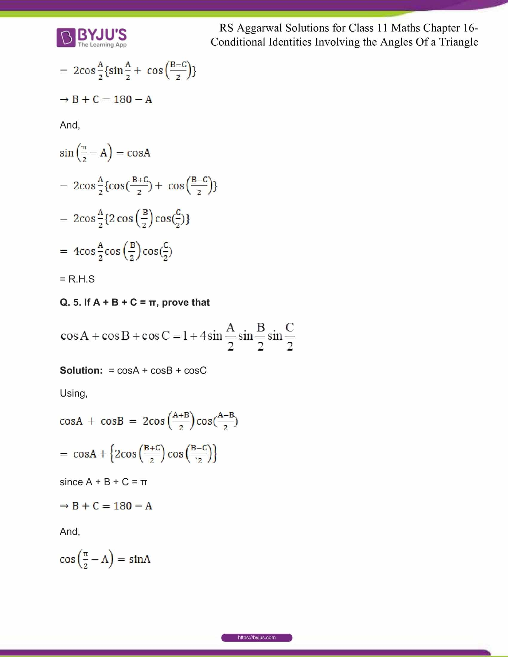 rsaggarwal solutions class 11 maths chapter 16 05