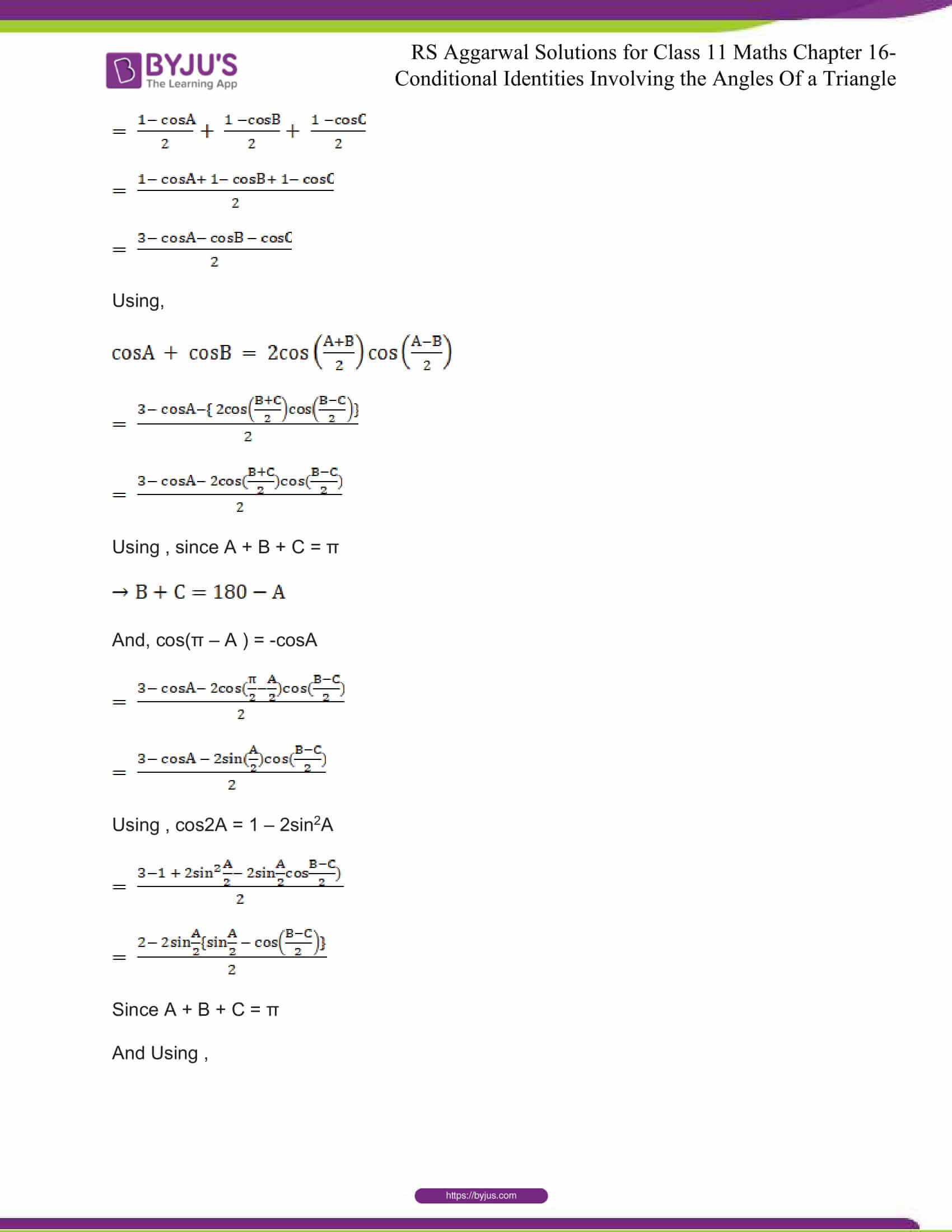 rsaggarwal solutions class 11 maths chapter 16 14