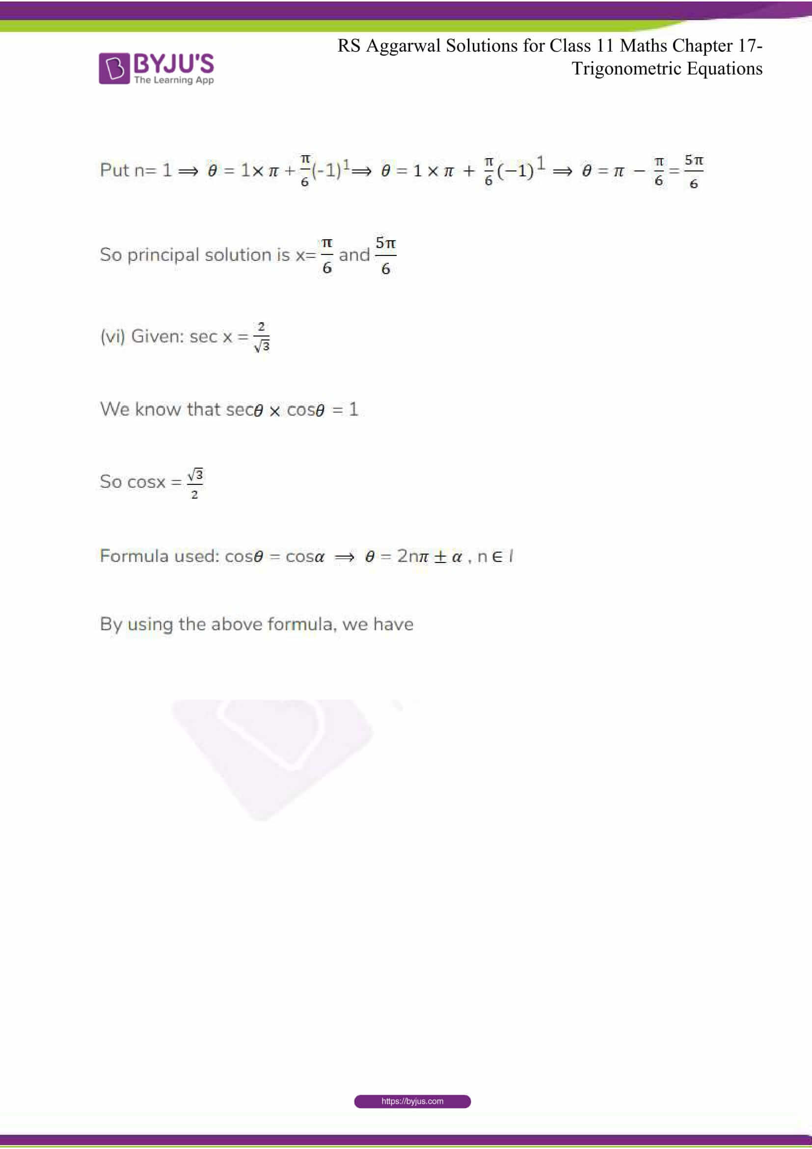 rsaggarwal solutions class 11 maths chapter 17 06