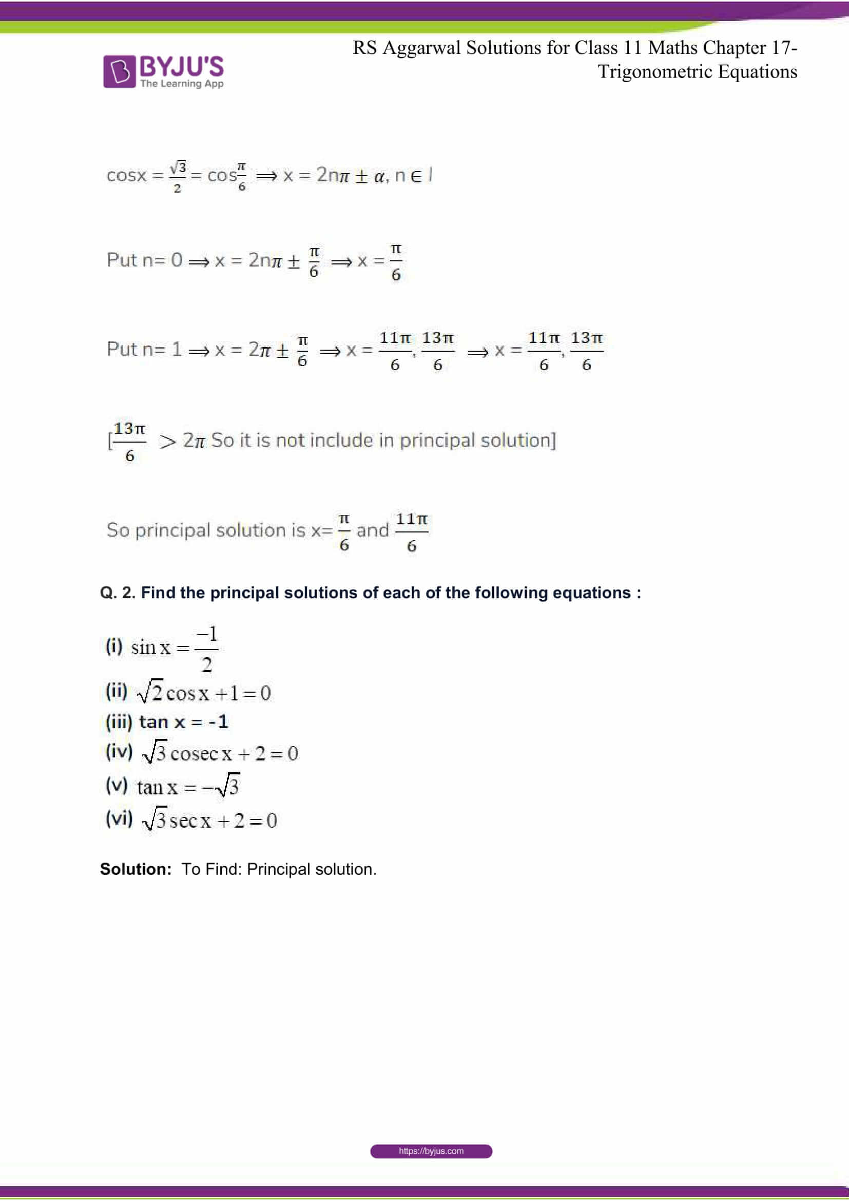 rsaggarwal solutions class 11 maths chapter 17 07