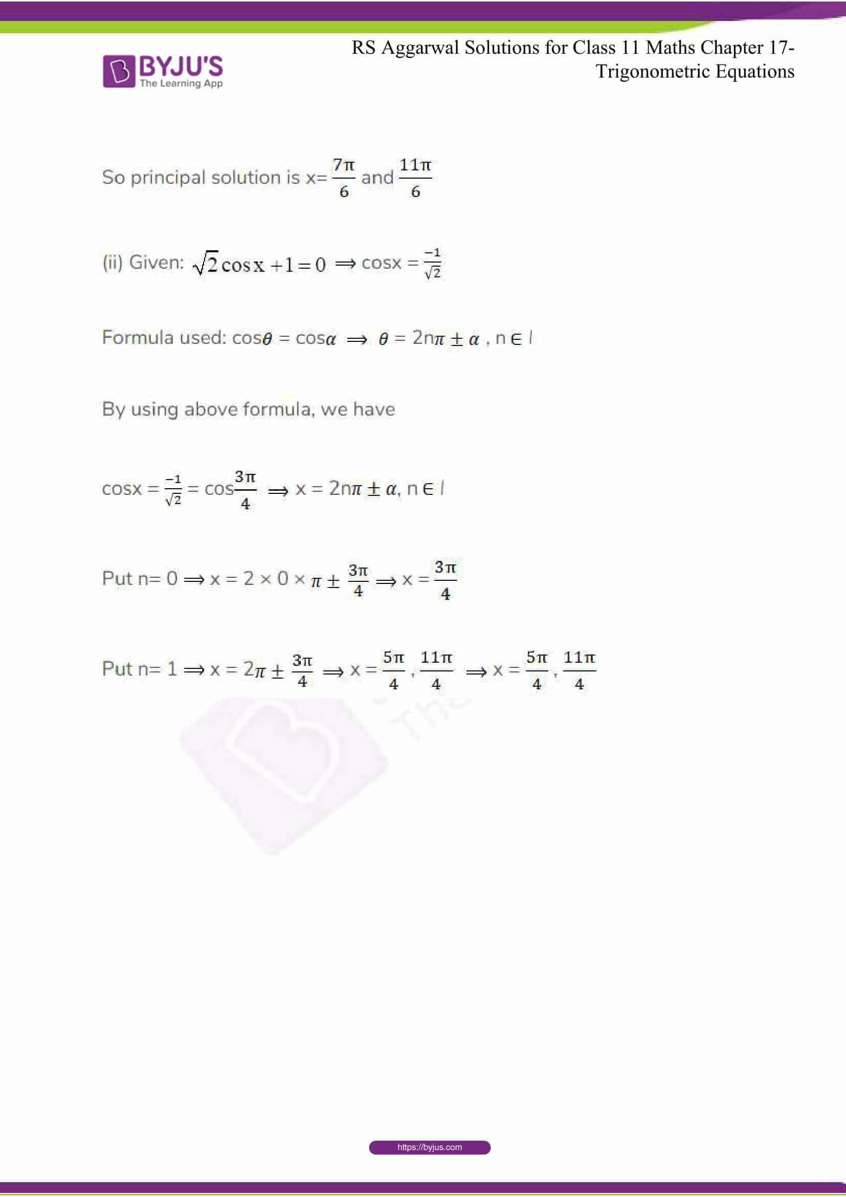 rsaggarwal solutions class 11 maths chapter 17 09
