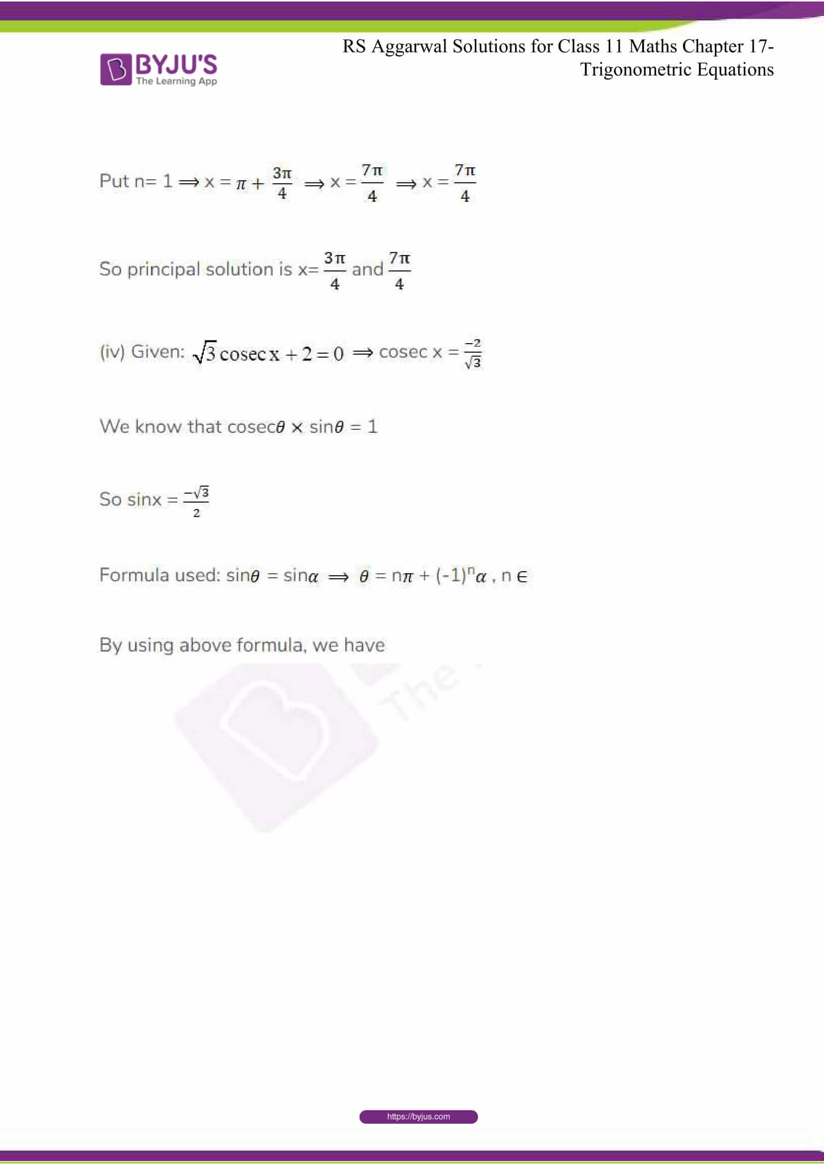 rsaggarwal solutions class 11 maths chapter 17 11