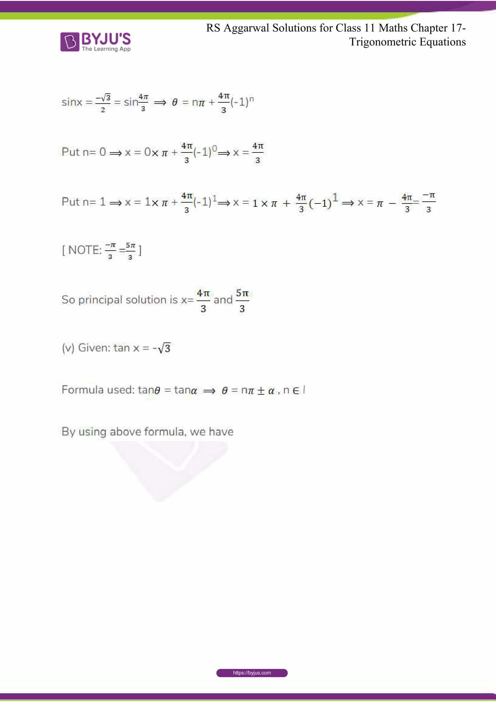 rsaggarwal solutions class 11 maths chapter 17 12