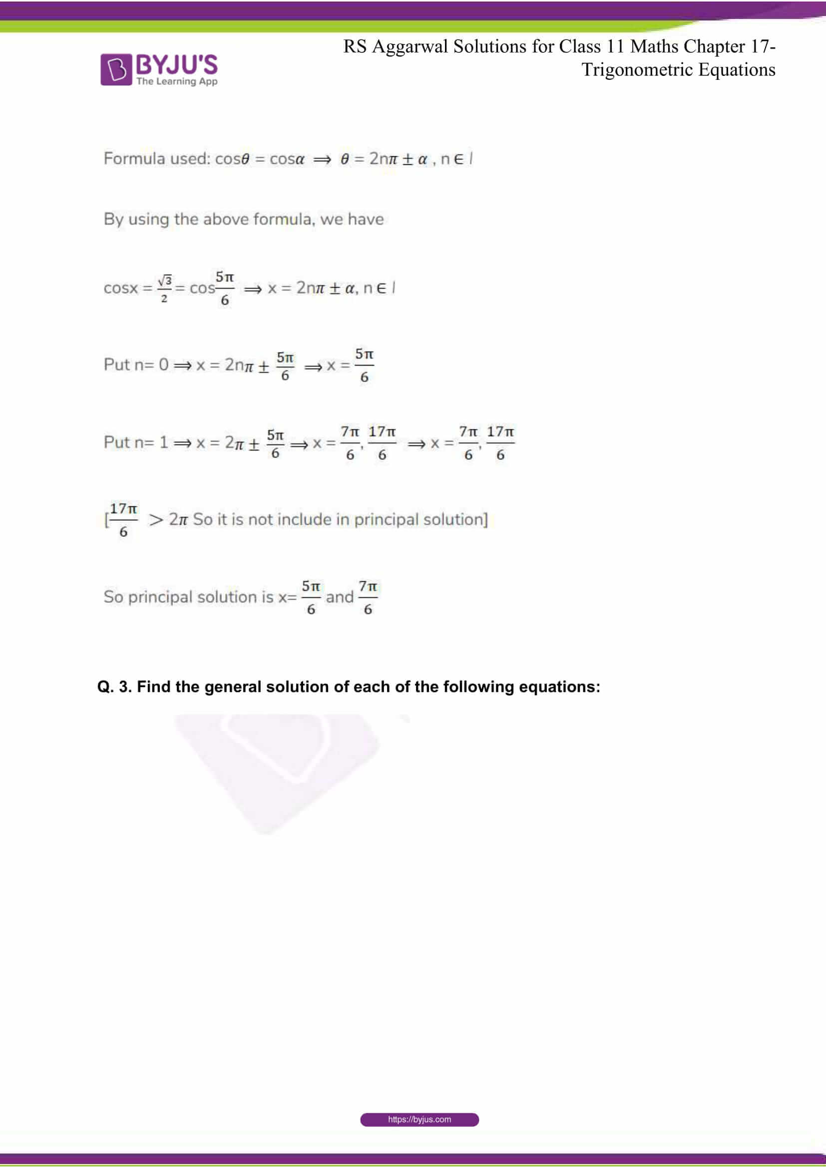 rsaggarwal solutions class 11 maths chapter 17 14