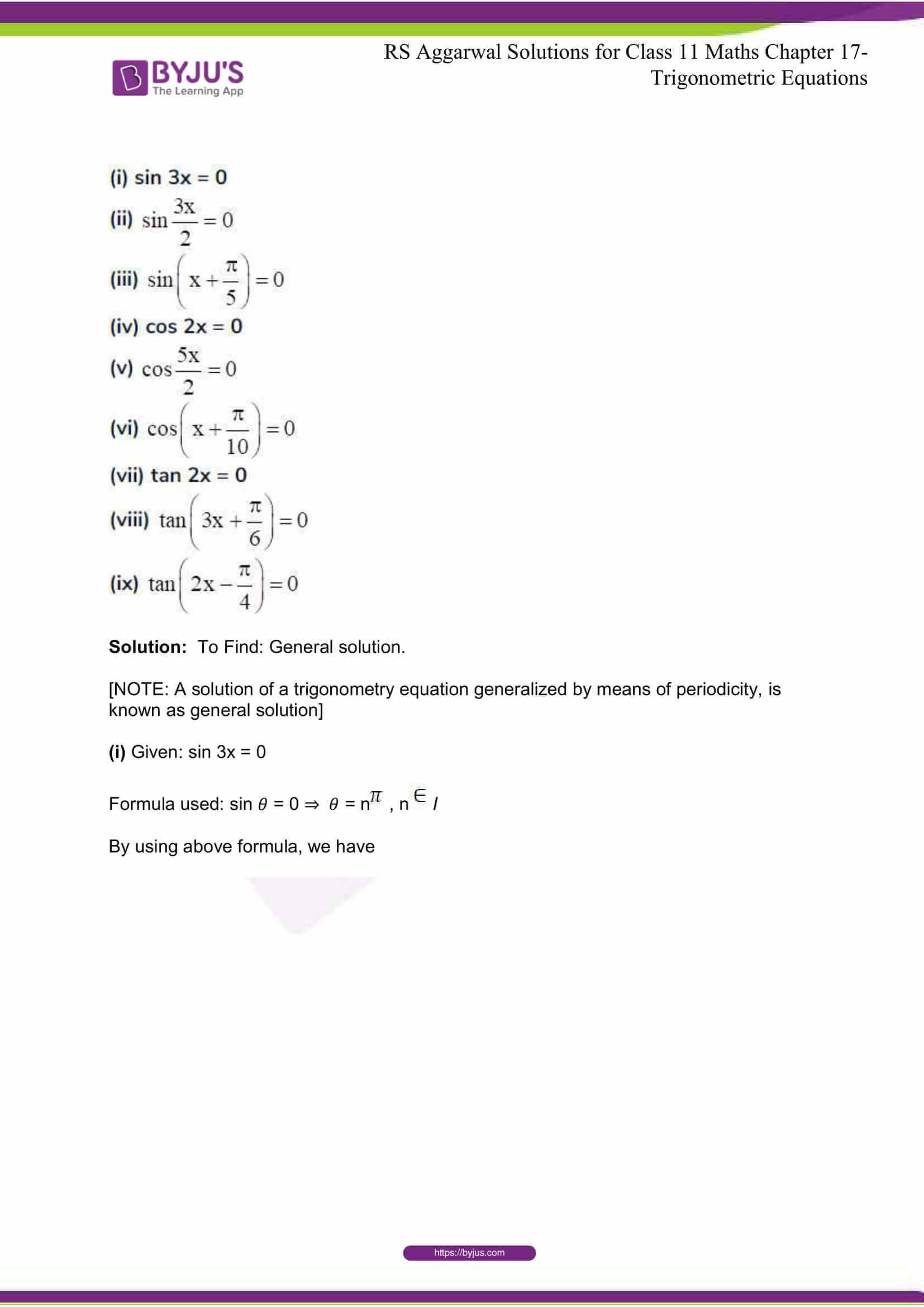 rsaggarwal solutions class 11 maths chapter 17 15