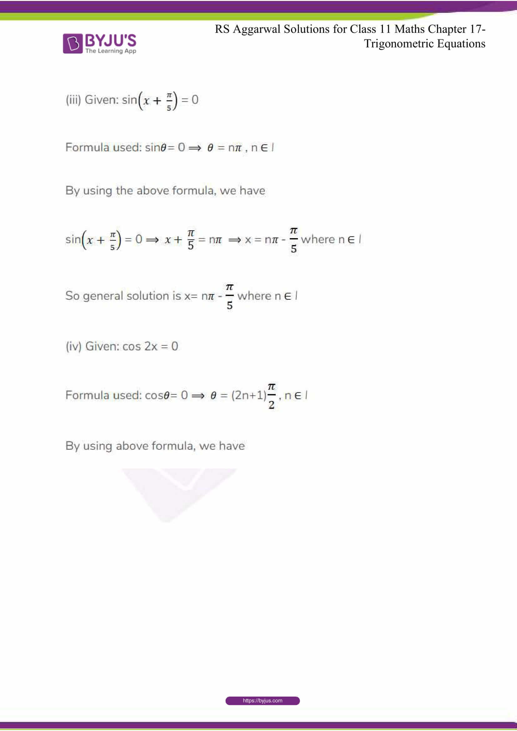 rsaggarwal solutions class 11 maths chapter 17 17