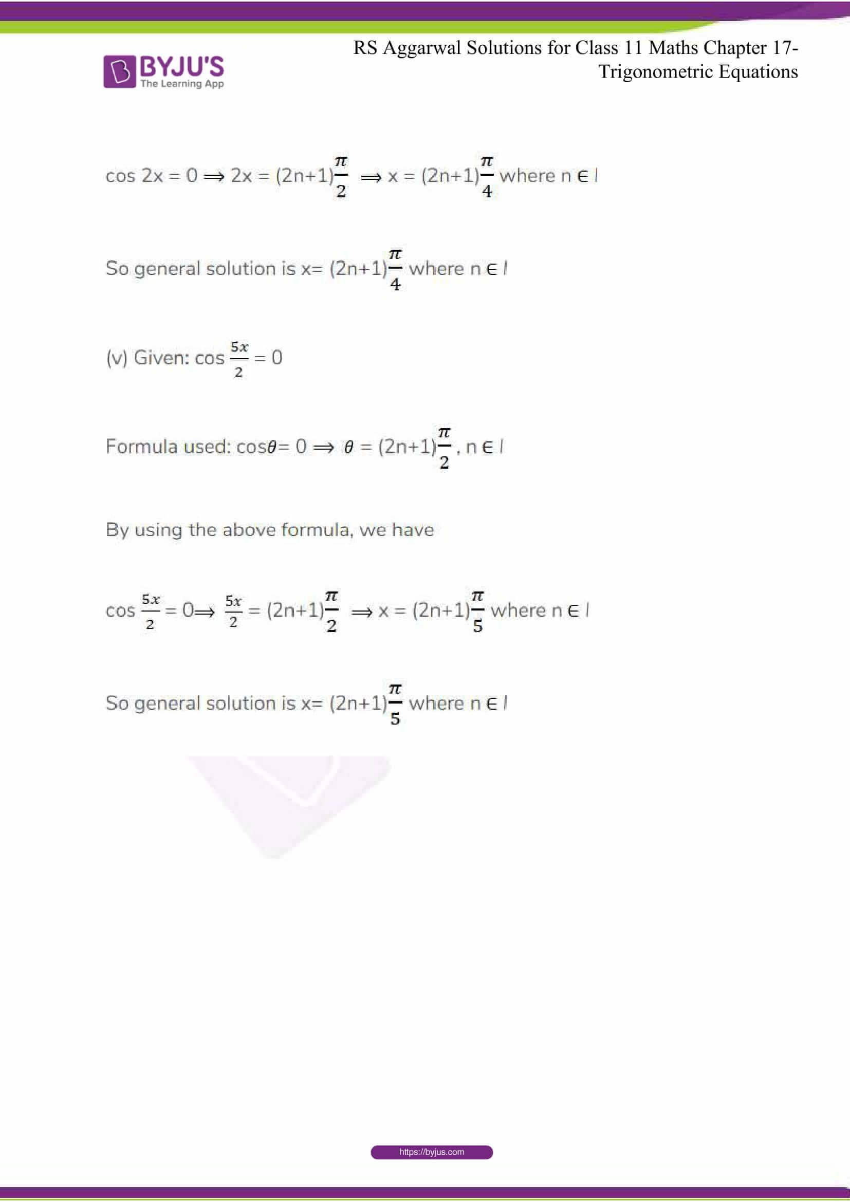 rsaggarwal solutions class 11 maths chapter 17 18