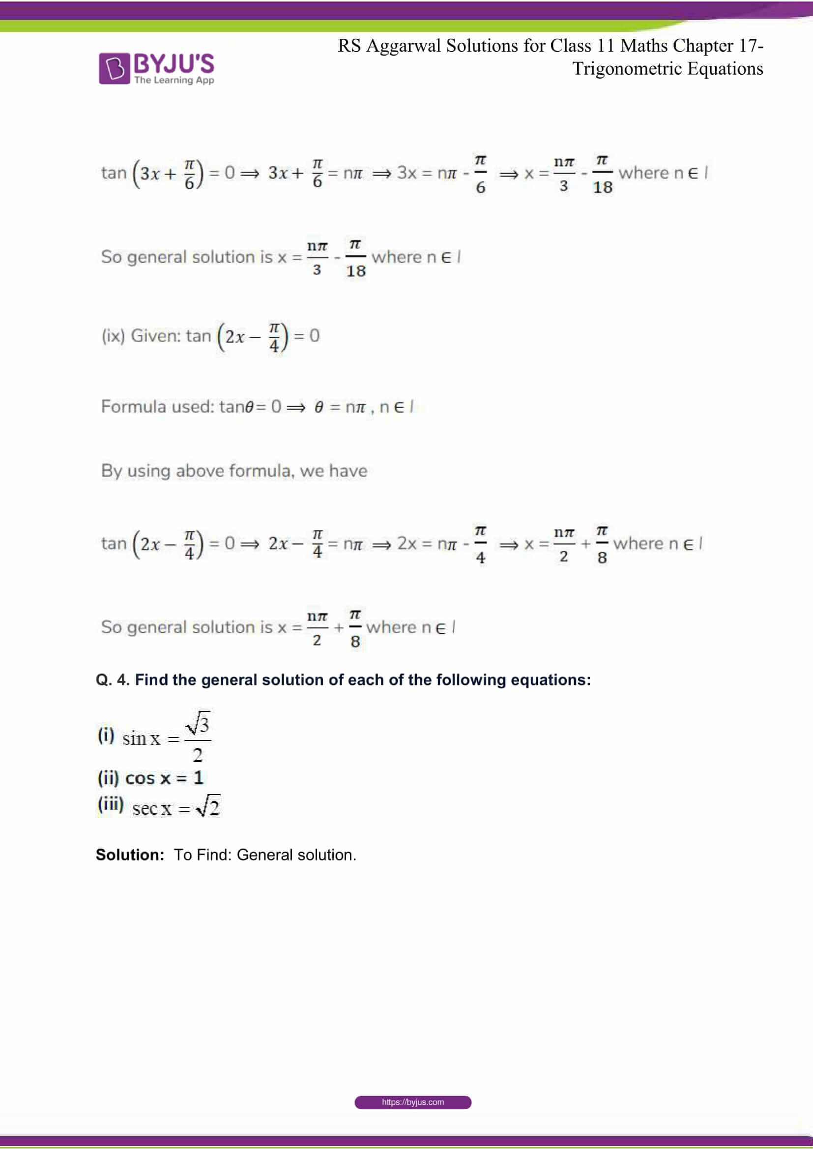 rsaggarwal solutions class 11 maths chapter 17 21