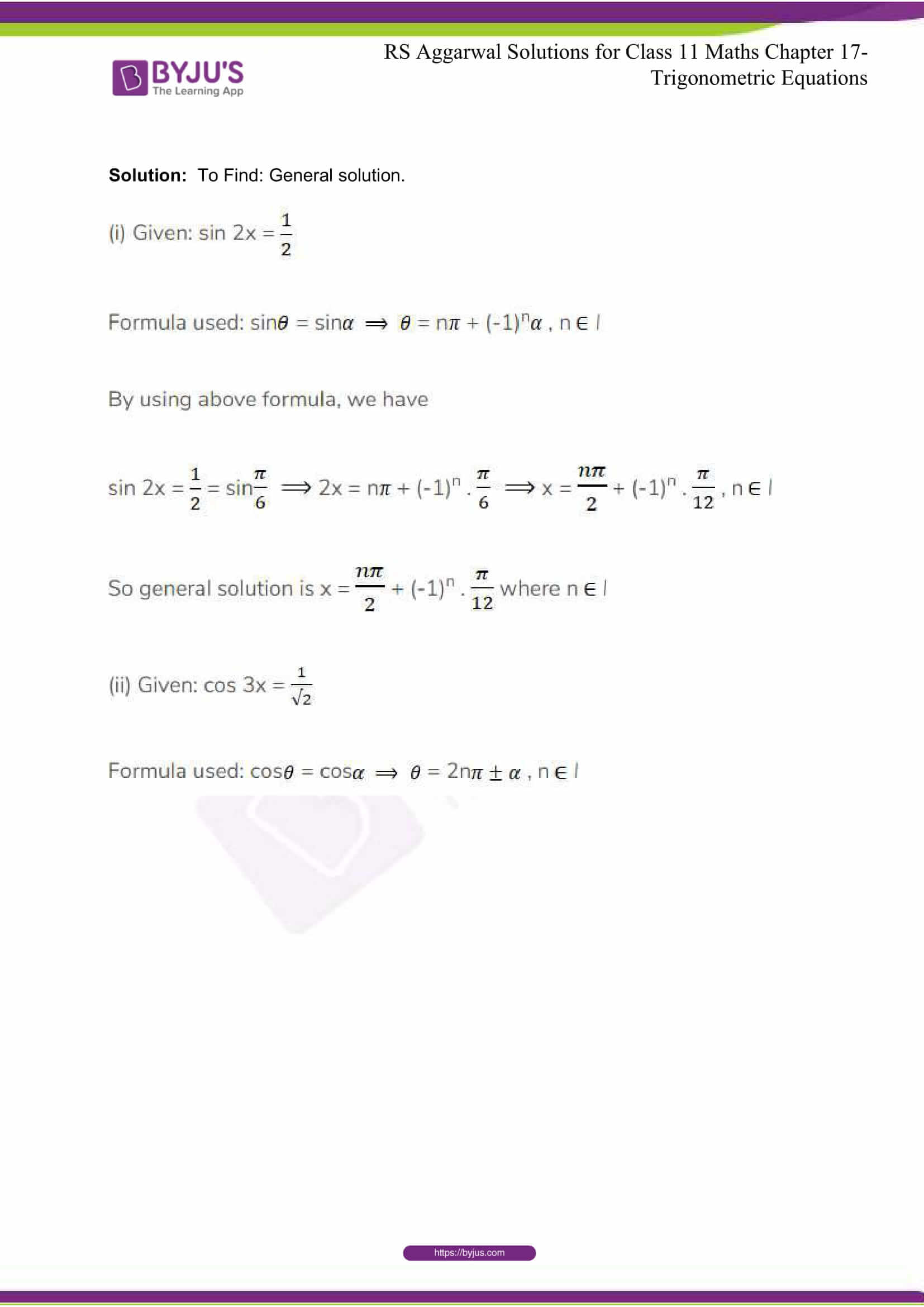 rsaggarwal solutions class 11 maths chapter 17 26