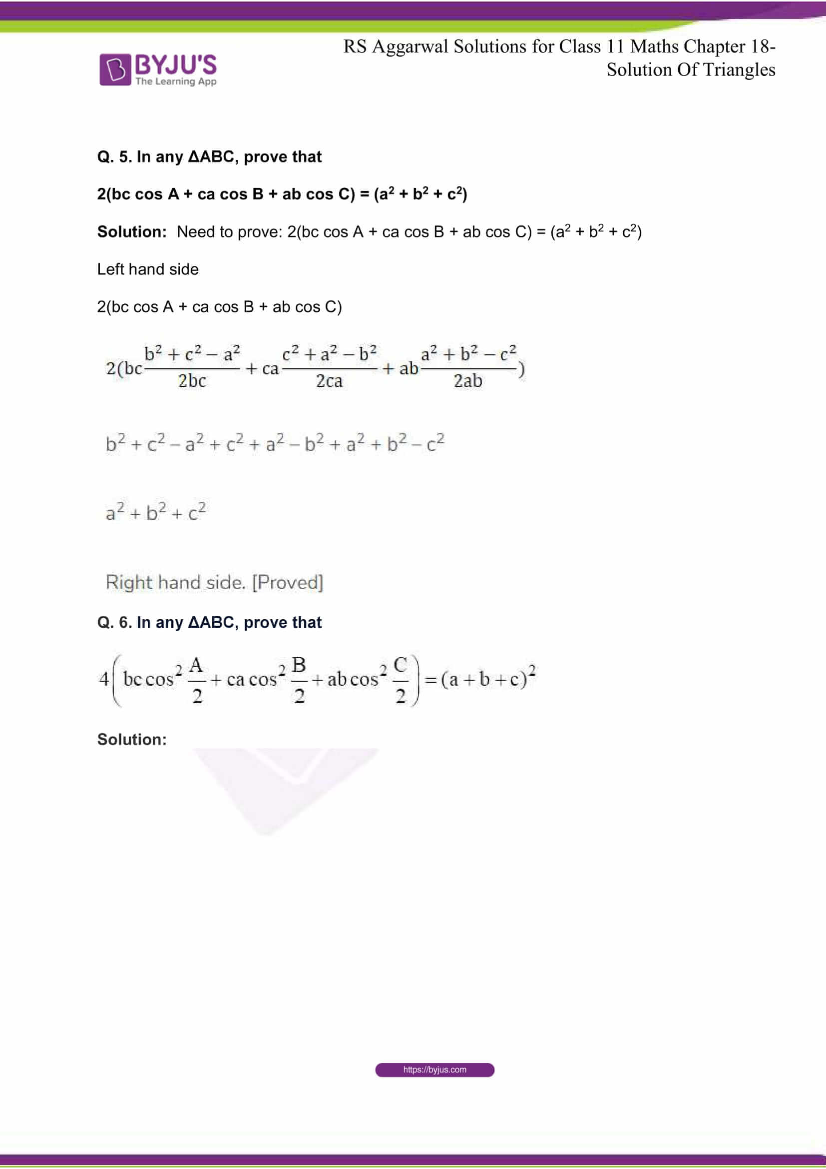 rsaggarwal solutions class 11 maths chapter 18 05