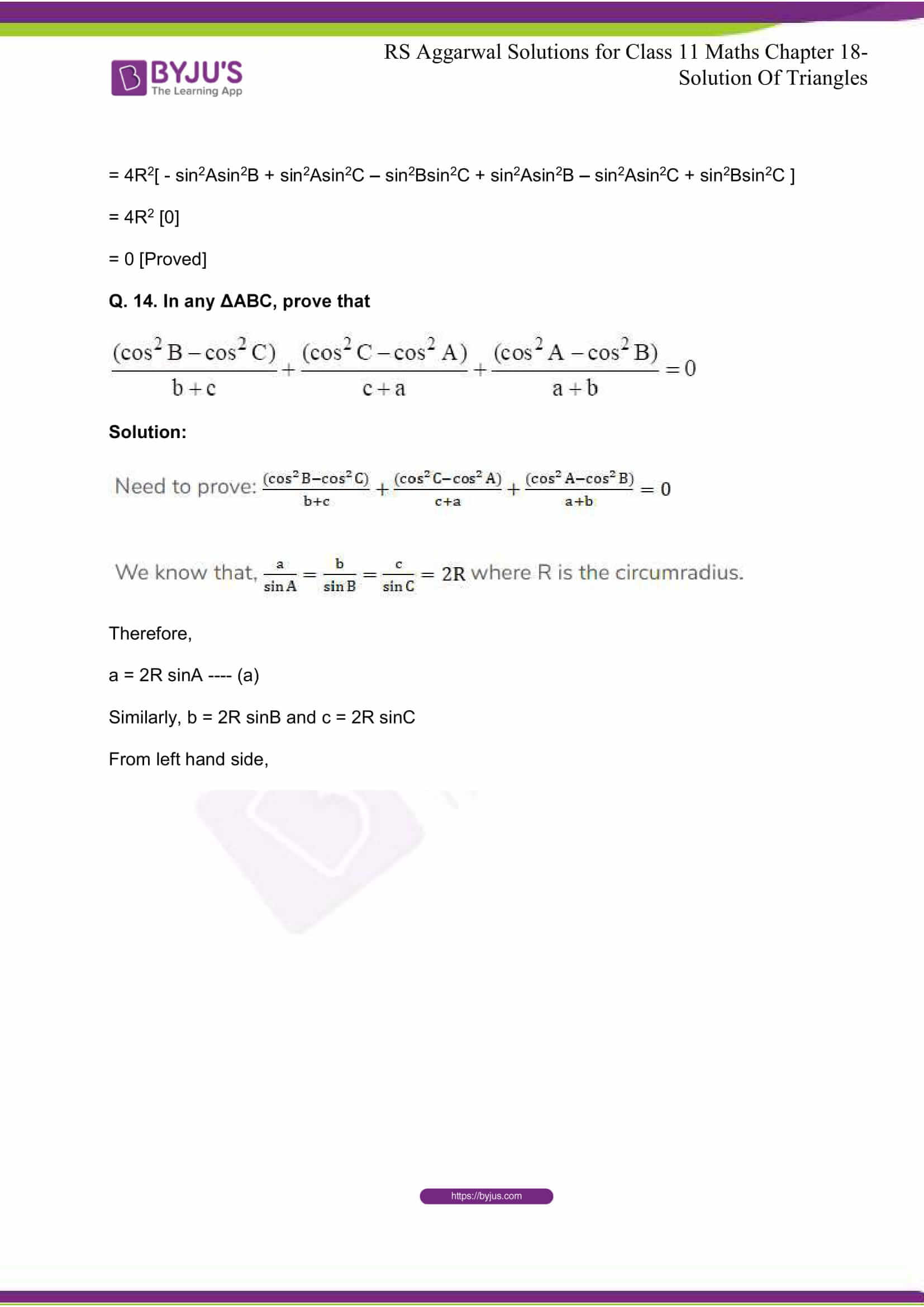 rsaggarwal solutions class 11 maths chapter 18 15