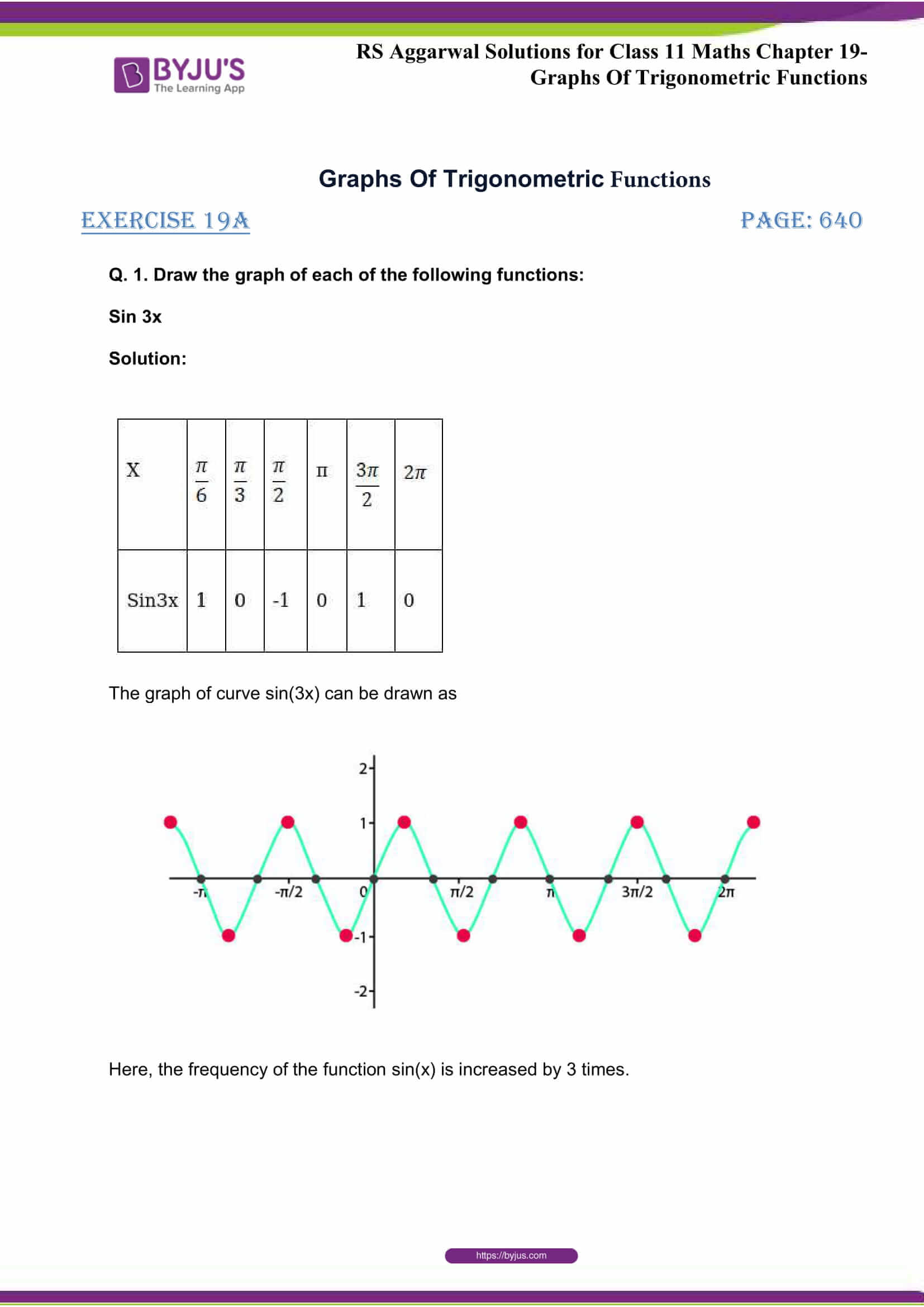 rsaggarwal solutions class 11 maths chapter 19 1