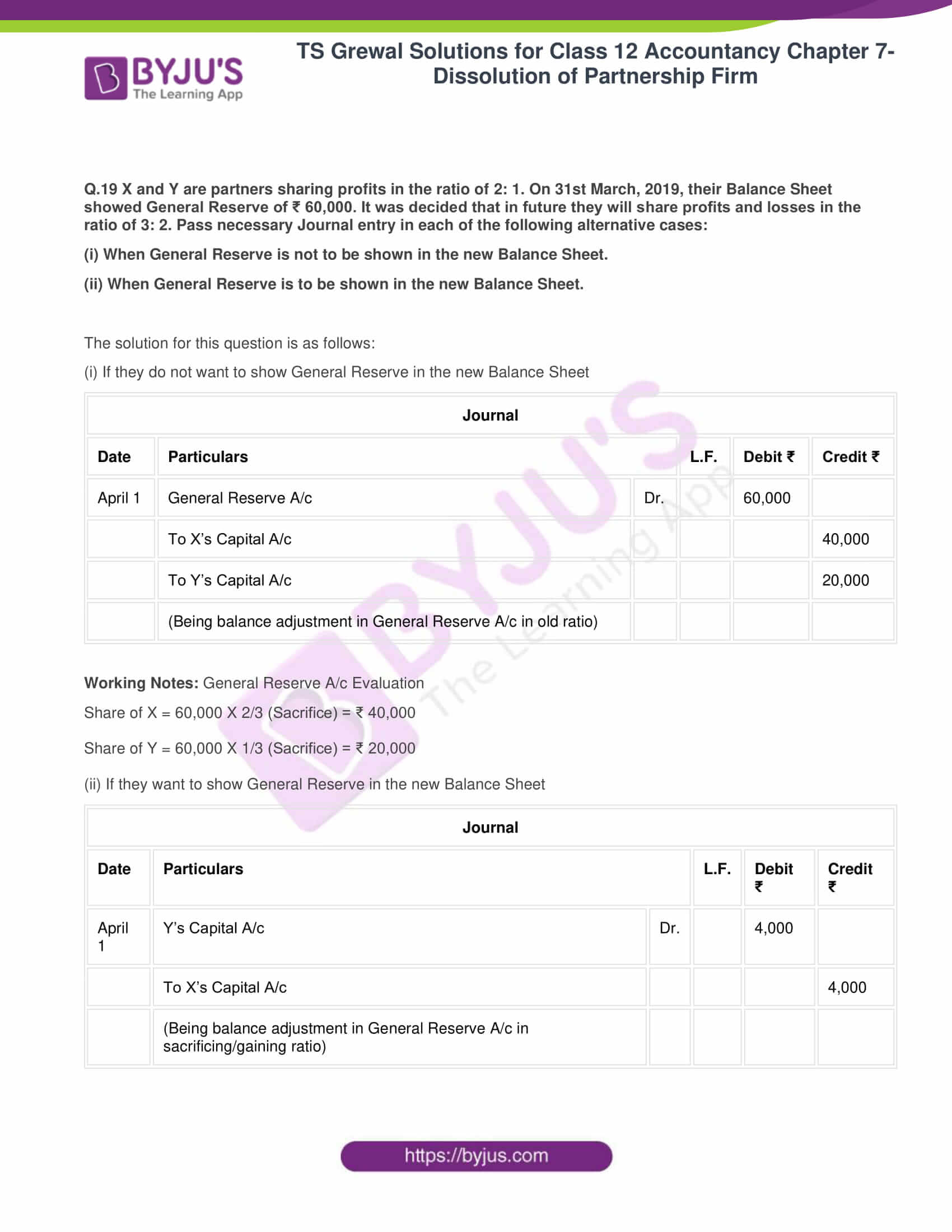 ts grewal solutions class 12 accountancy vol 1 chapter 4 change in profit 21