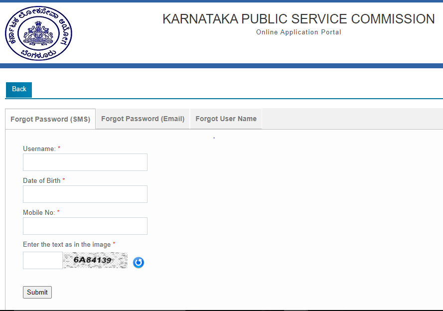 KPSC Admit Card - KAS Admit Card