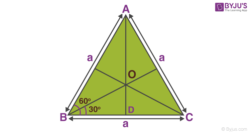 Centre of mass of equilateral triangle