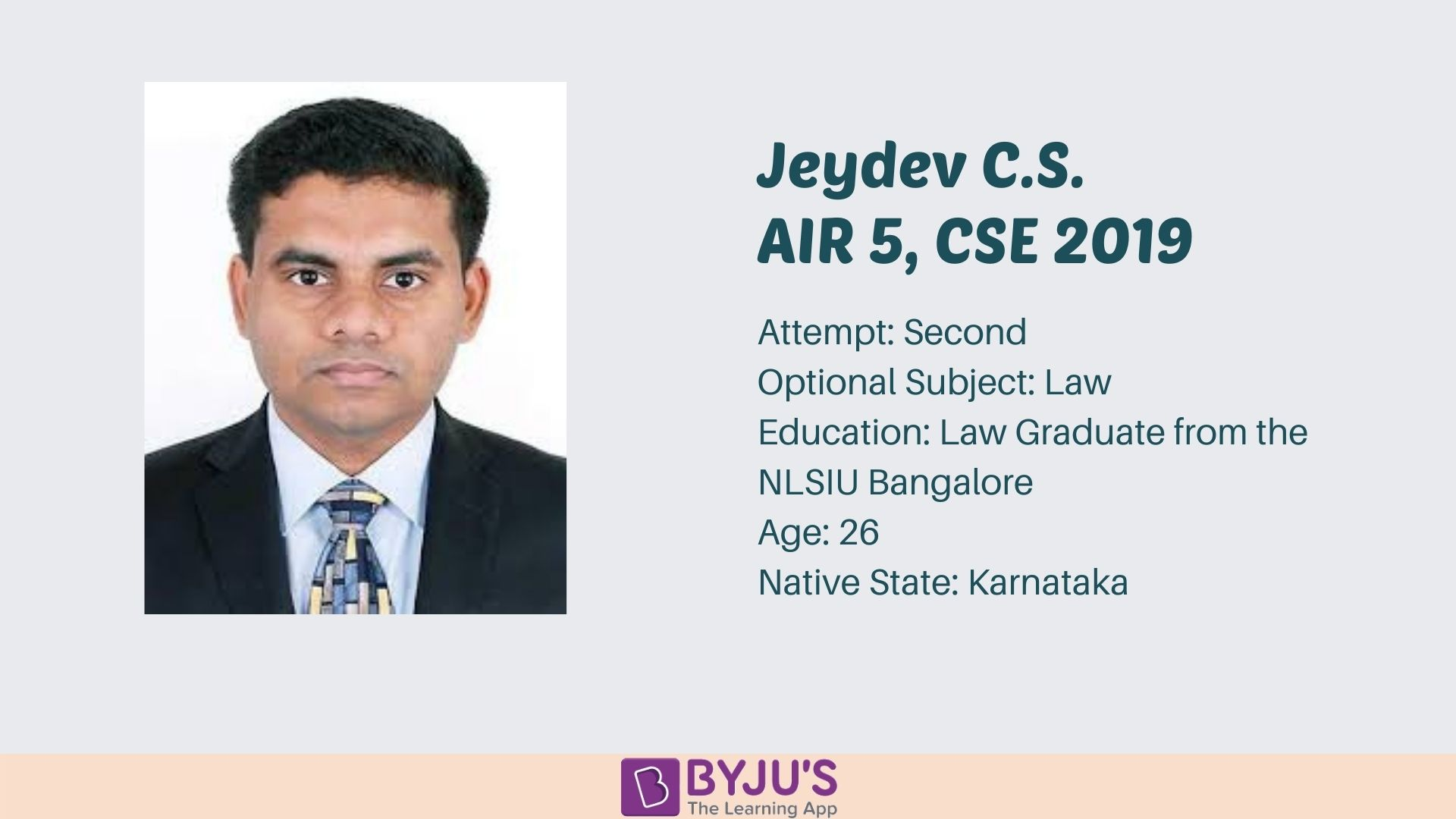 Jeydev C.S. Facts