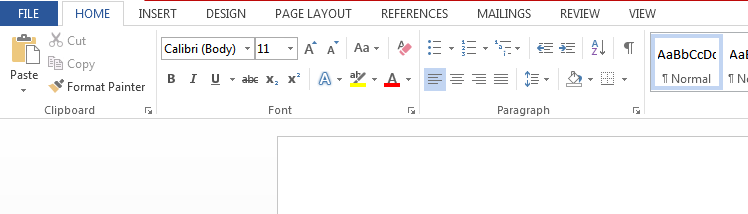 MS Word - Features of Microsoft Word
