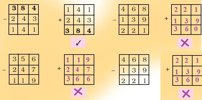 NCERT Solutions Class 3 Maths Chapter 6 Fun with Give and Take1