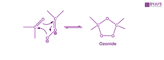 Ozonolysis of Alkenes Mechanism - Step 2
