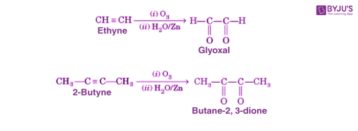 Ozonolysis of Alkynes