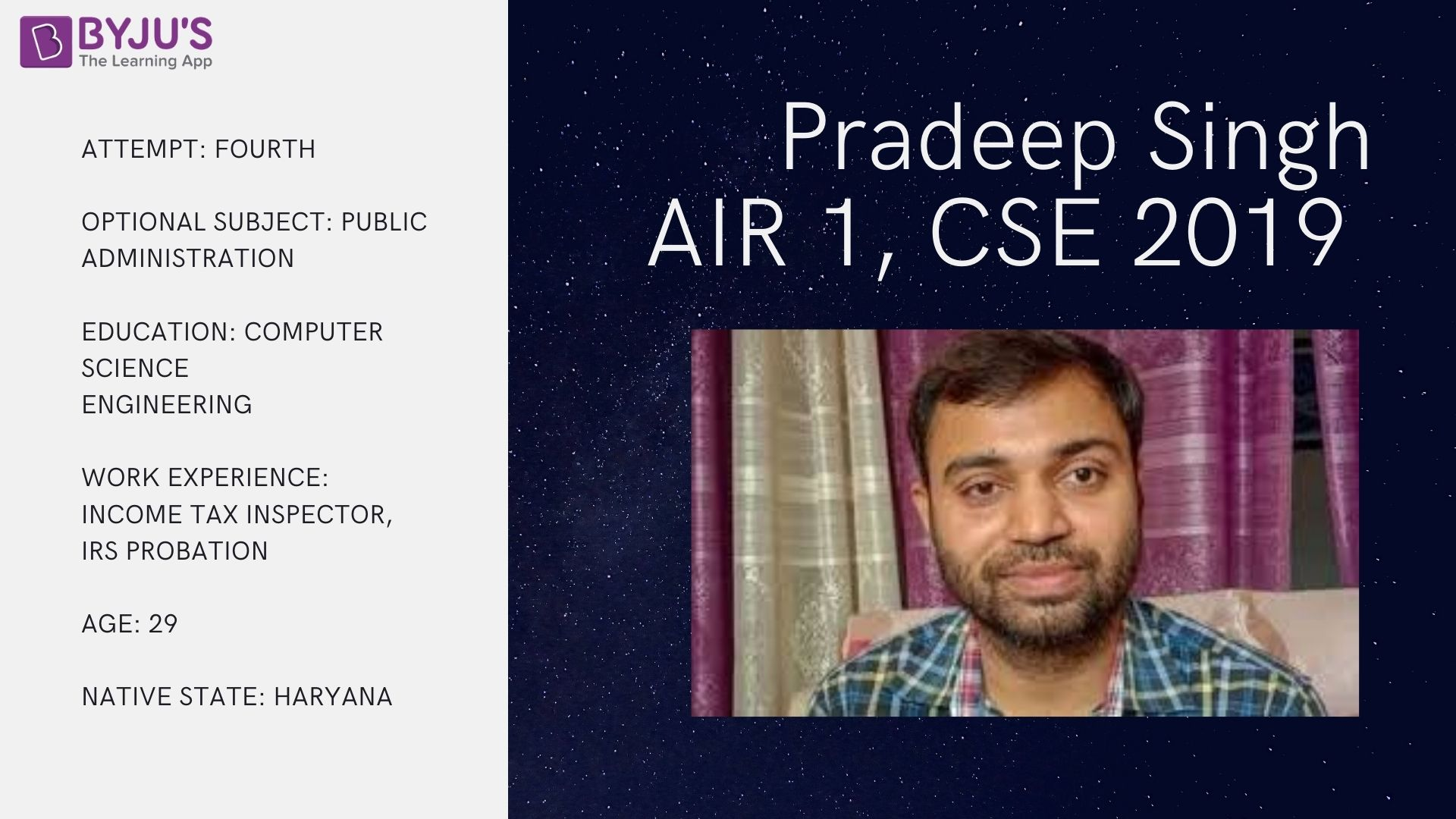 Pradeep Singh Facts