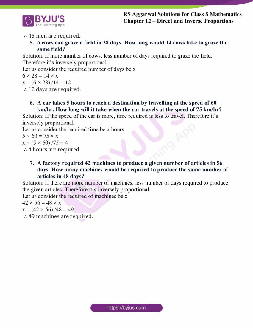 rs aggarwal solutions class 8 maths chapter 12b