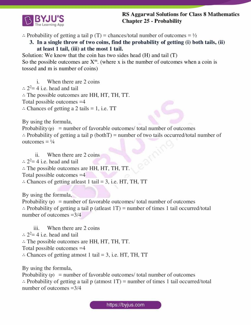 rs aggarwal solutions class 8 maths chapter 25a