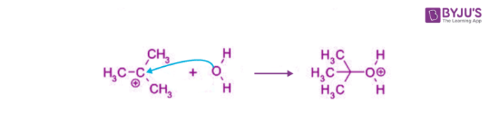 SN1 Reaction Mechanism Step 2