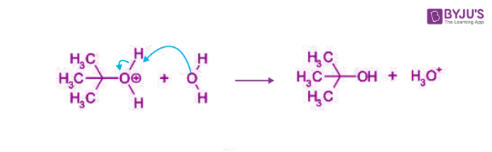 SN1 Reaction Mechanism Step 3