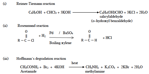 ISC Class 12 Chemistry Question Paper Solution 2015-15