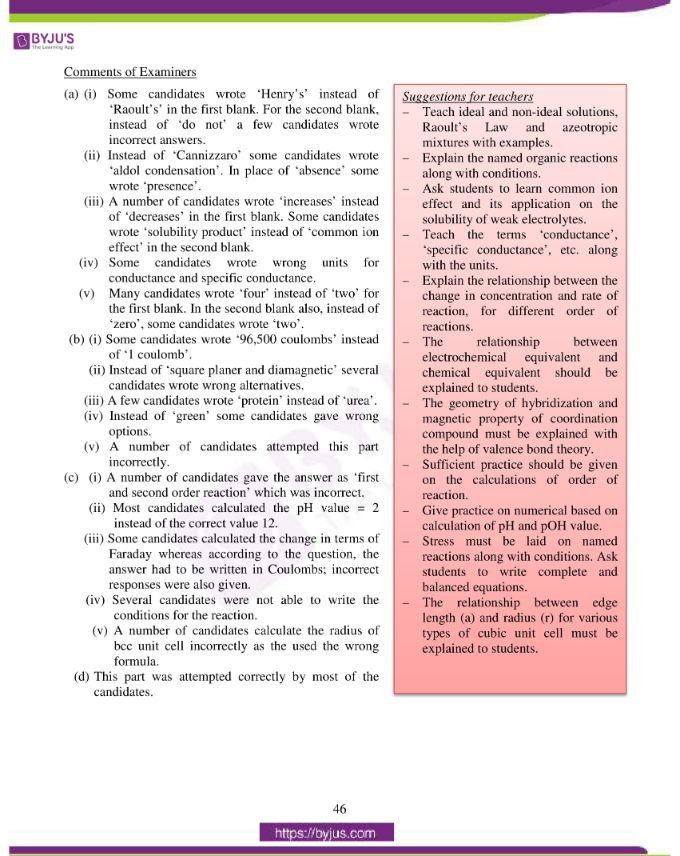 isc class 12 chemistry question paper solution 2016 03
