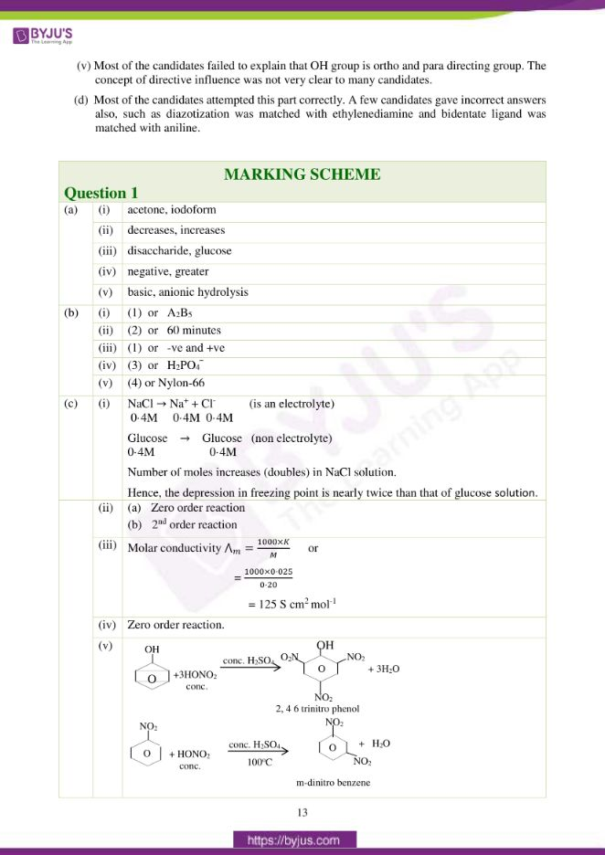 isc class 12 chemistry question paper solution 2017 04