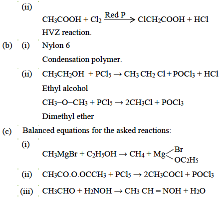 ISC Class 12 Chemistry Question Paper Solution 2017-14
