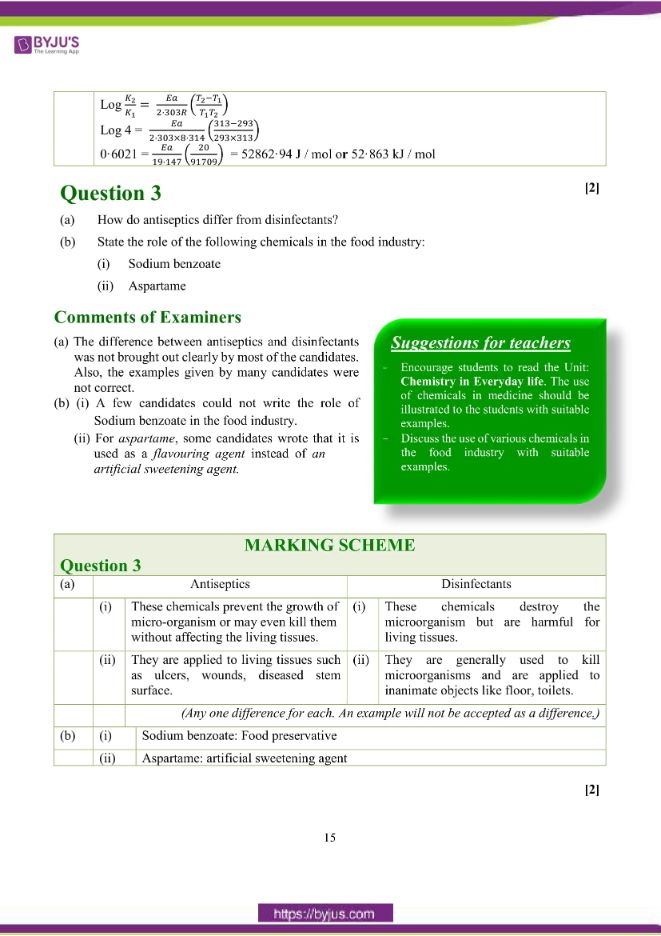 isc class 12 chemistry question paper solution 2018 06