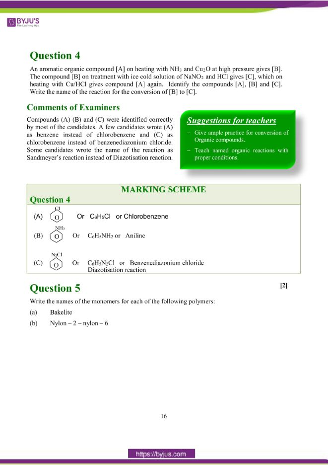 isc class 12 chemistry question paper solution 2018 07