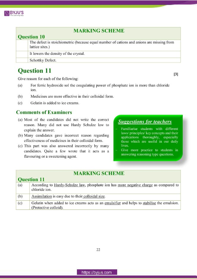 isc class 12 chemistry question paper solution 2018 13