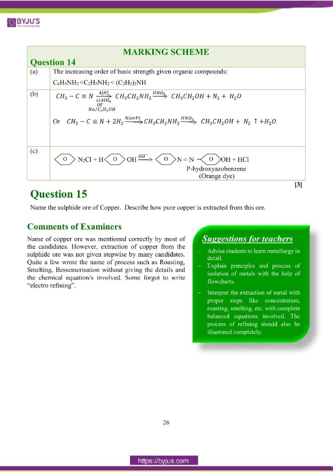 isc class 12 chemistry question paper solution 2018 17