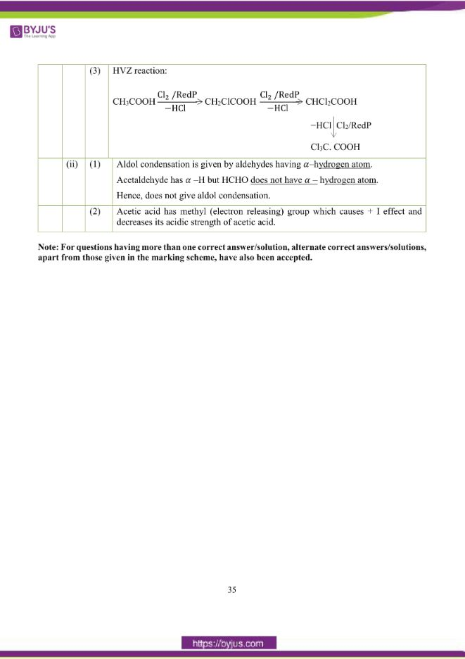 isc class 12 chemistry question paper solution 2018 26