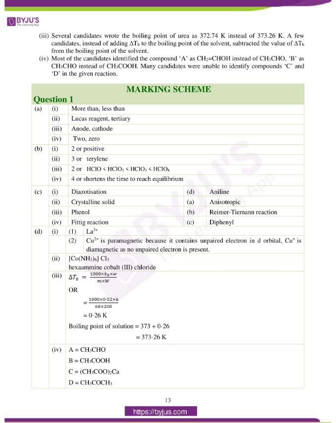 isc class 12 chemistry question paper solution 2019 04
