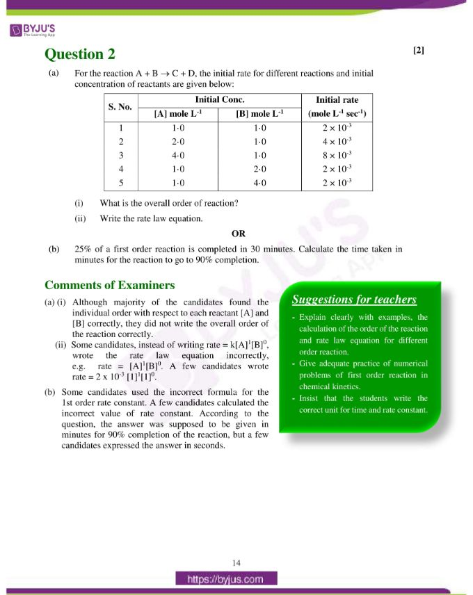 isc class 12 chemistry question paper solution 2019 05