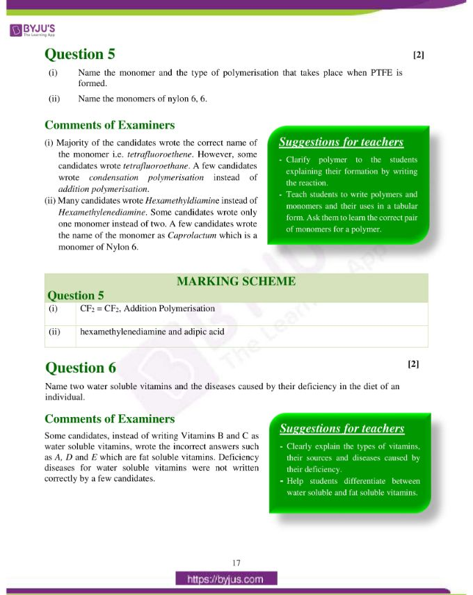 isc class 12 chemistry question paper solution 2019 08