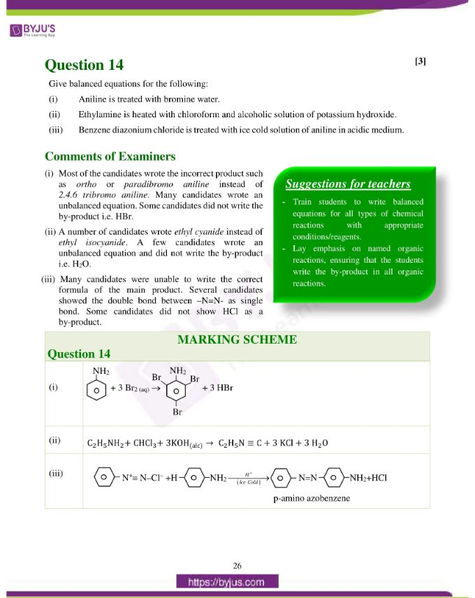 isc class 12 chemistry question paper solution 2019 17