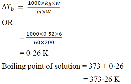 ISC Class 12 Chemistry Question Paper Solution 2019-2