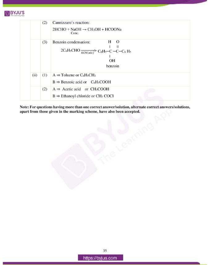 isc class 12 chemistry question paper solution 2019 26