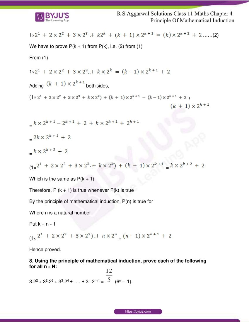 rs aggarwal class 11 maths solutions chapter 4 10