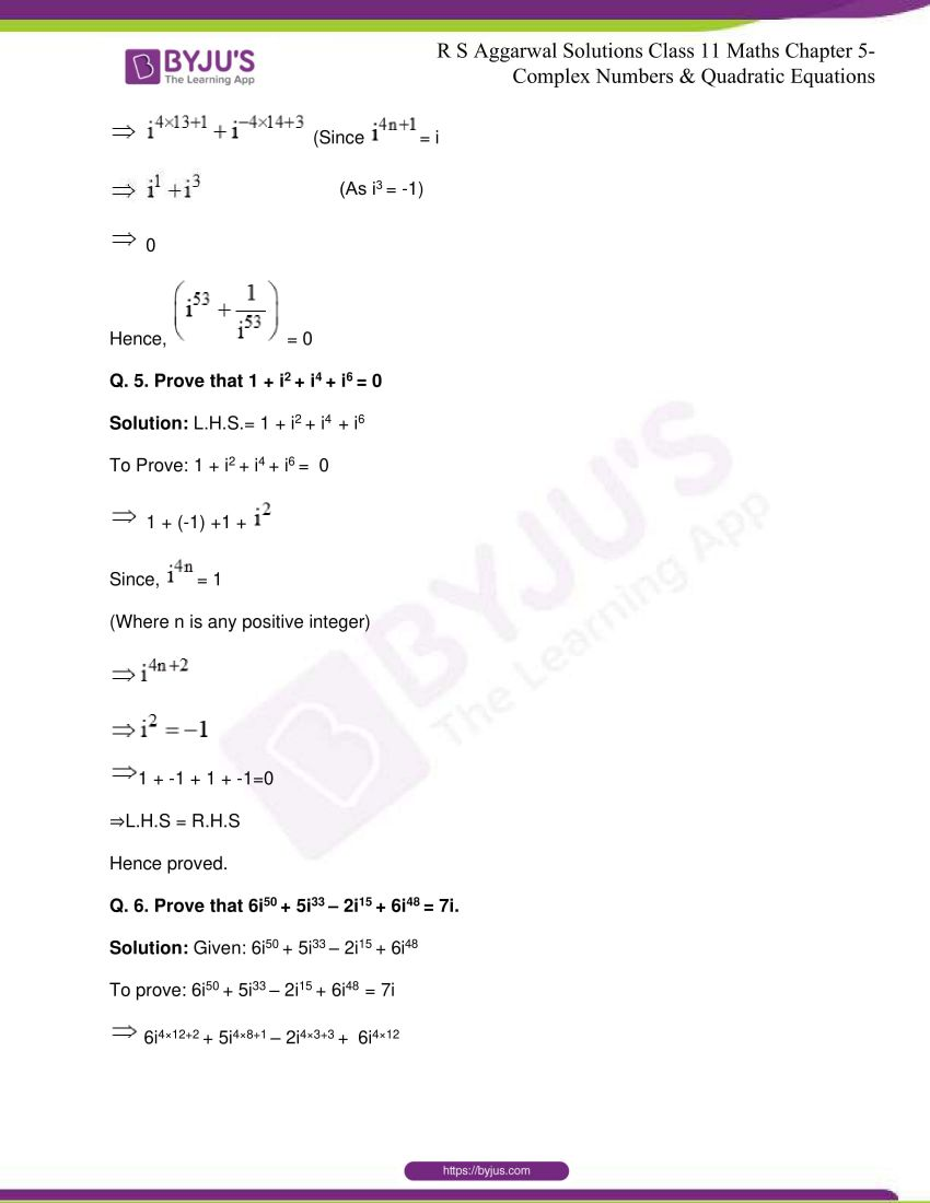 rs aggarwal class 11 maths solutions chapter 5 005