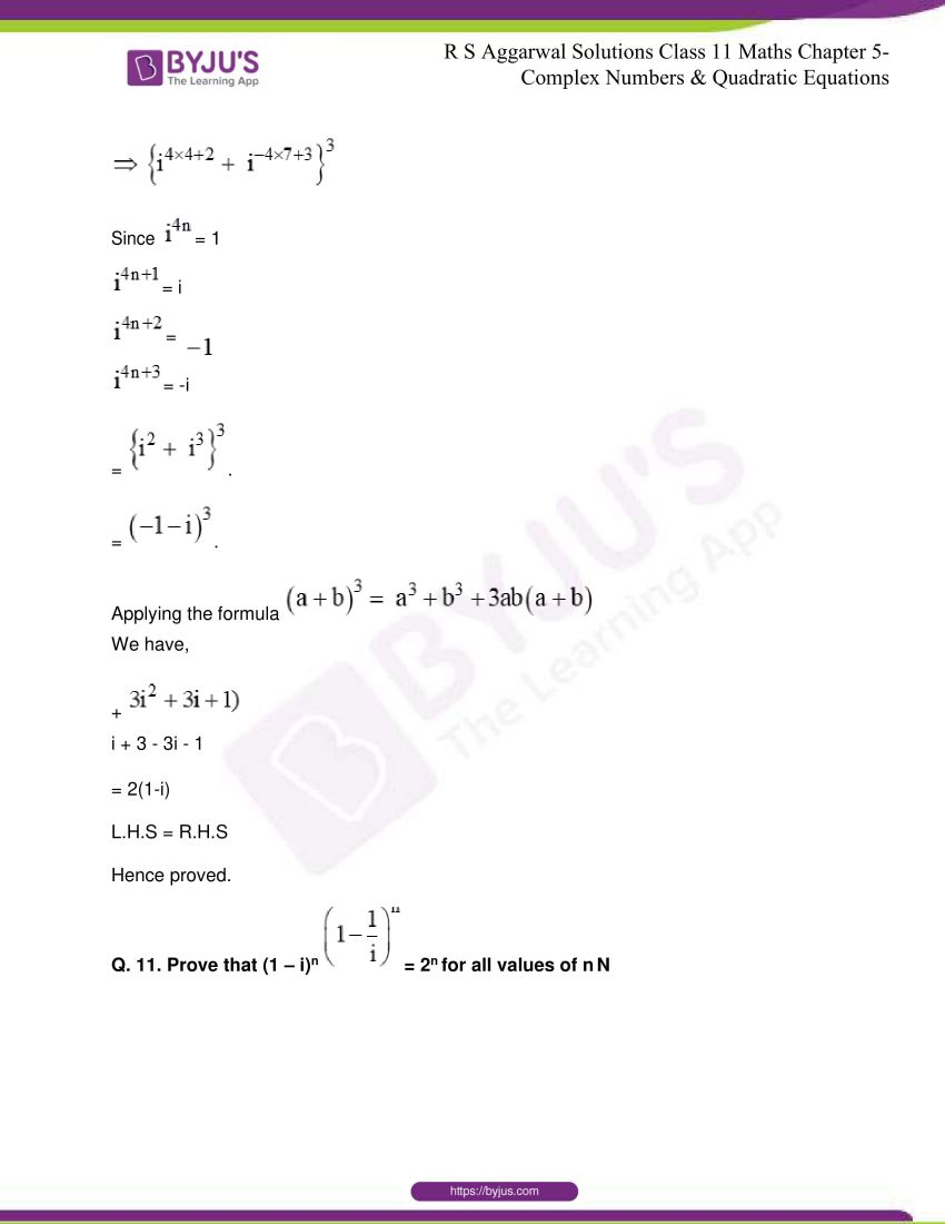 rs aggarwal class 11 maths solutions chapter 5 009