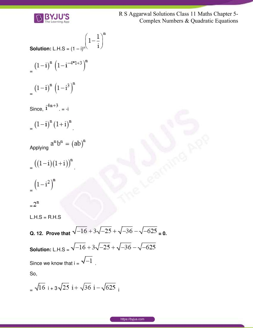 rs aggarwal class 11 maths solutions chapter 5 010
