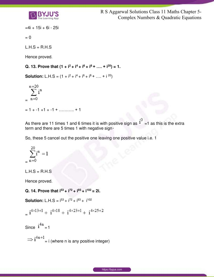 rs aggarwal class 11 maths solutions chapter 5 011