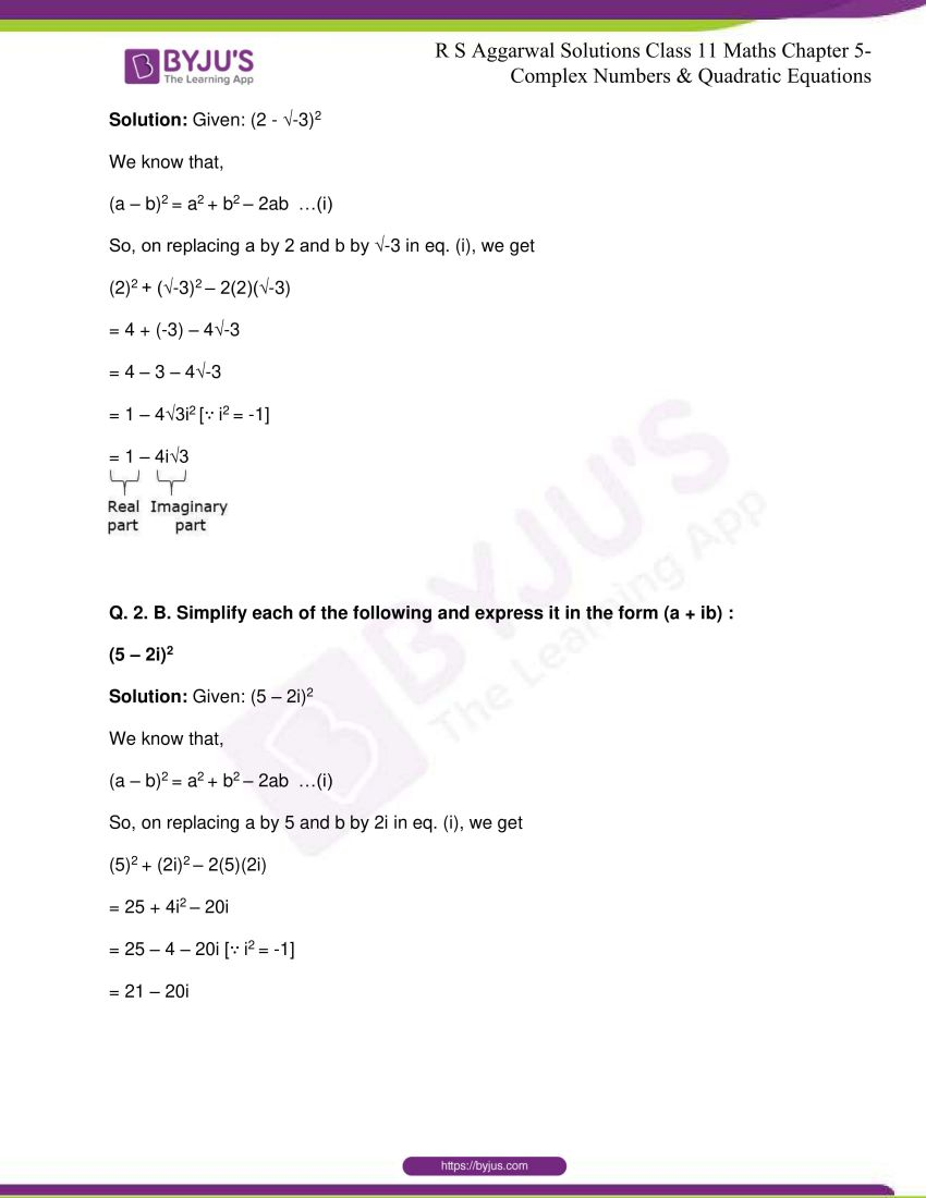 rs aggarwal class 11 maths solutions chapter 5 018